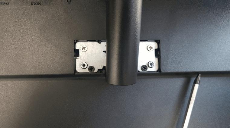 알파스캔 24B1 모니터 지지대 고정 나사